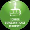 Sommer Bergbahnticket inklusive