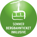 Bergbahnticket inkl.