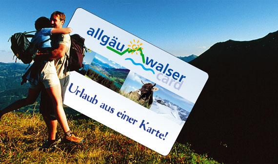 Allgäu-Walser-Card - Urlaub aus einer Karte!