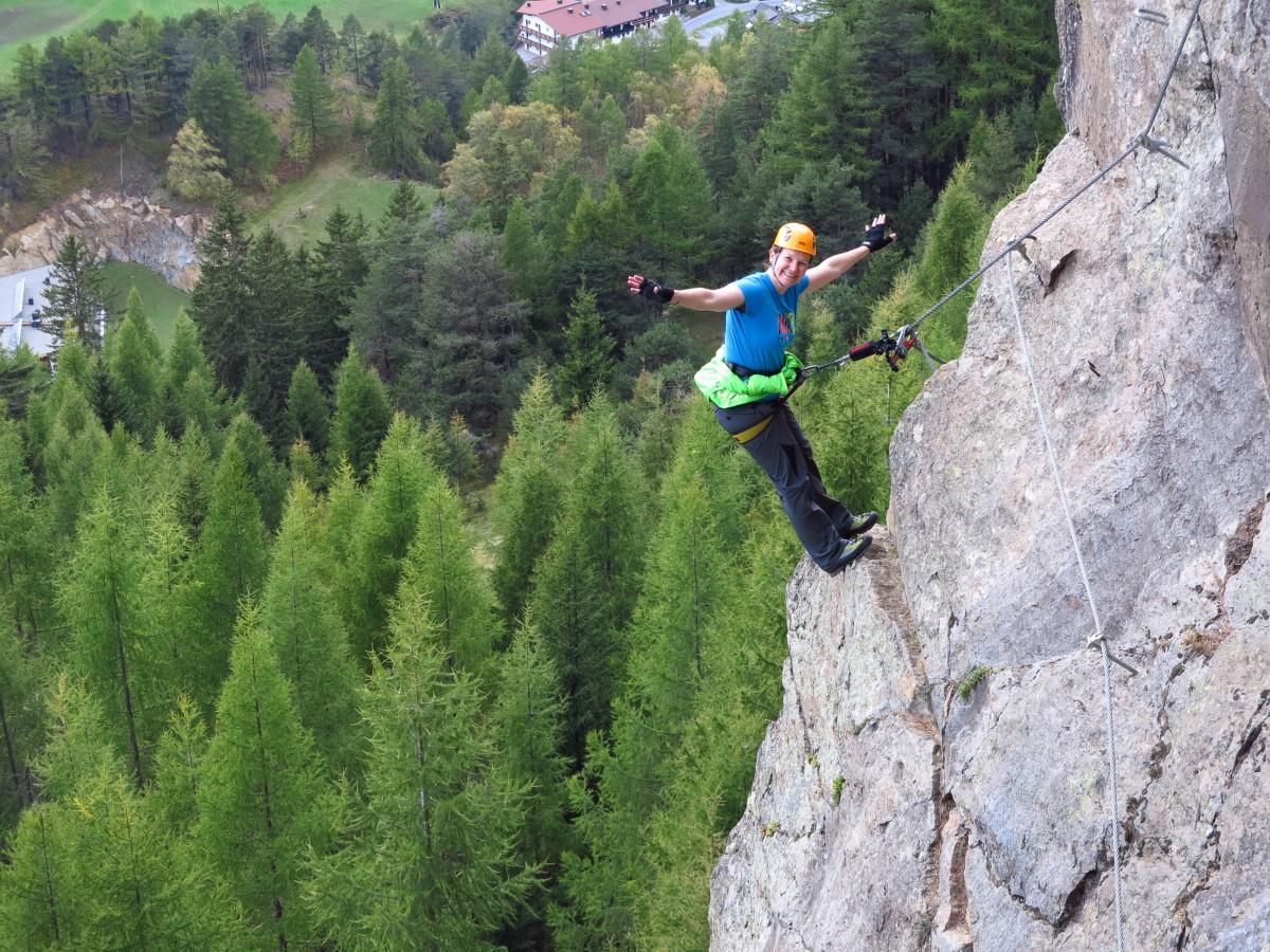 Klettersteig Tirol : Klettersteige im herzen tirols bergschule kleinwalsertal