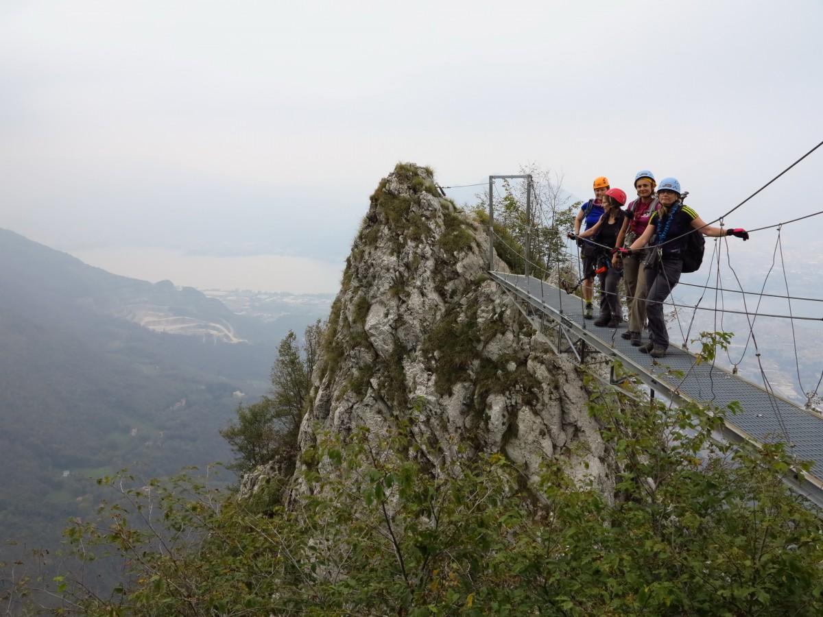 Klettersteig Comer See : Klettersteige comer see bergschule kleinwalsertal