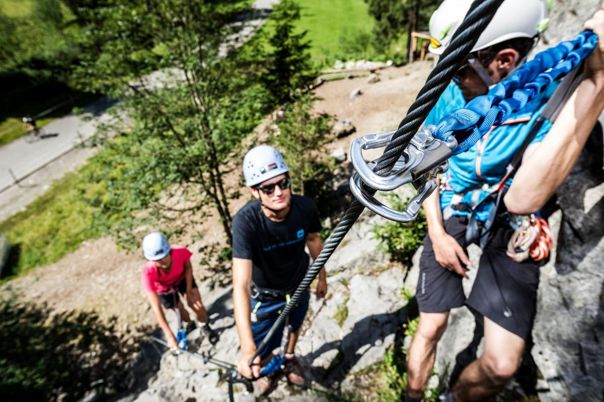Klettersteig Nähe Zürich : Klettersteige schweiz tourismus