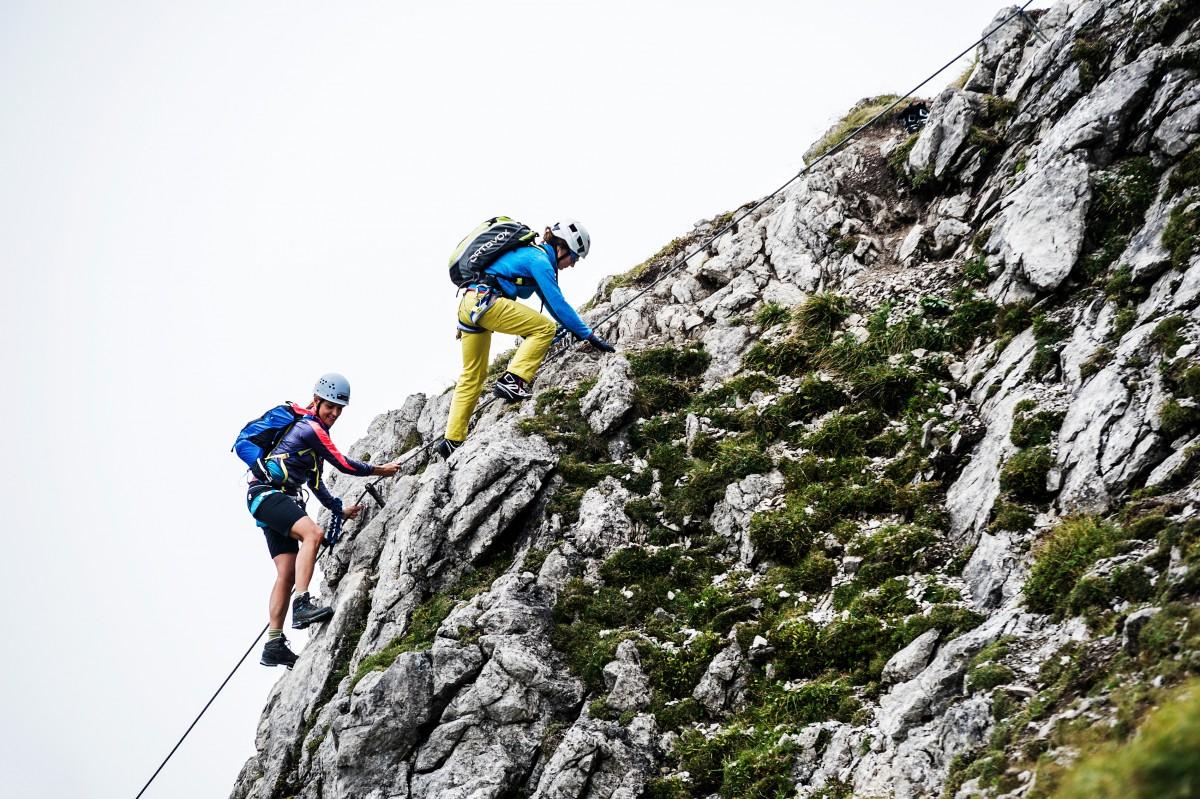 Klettersteig Kleinwalsertal : Walser klettersteig bergschule kleinwalsertal