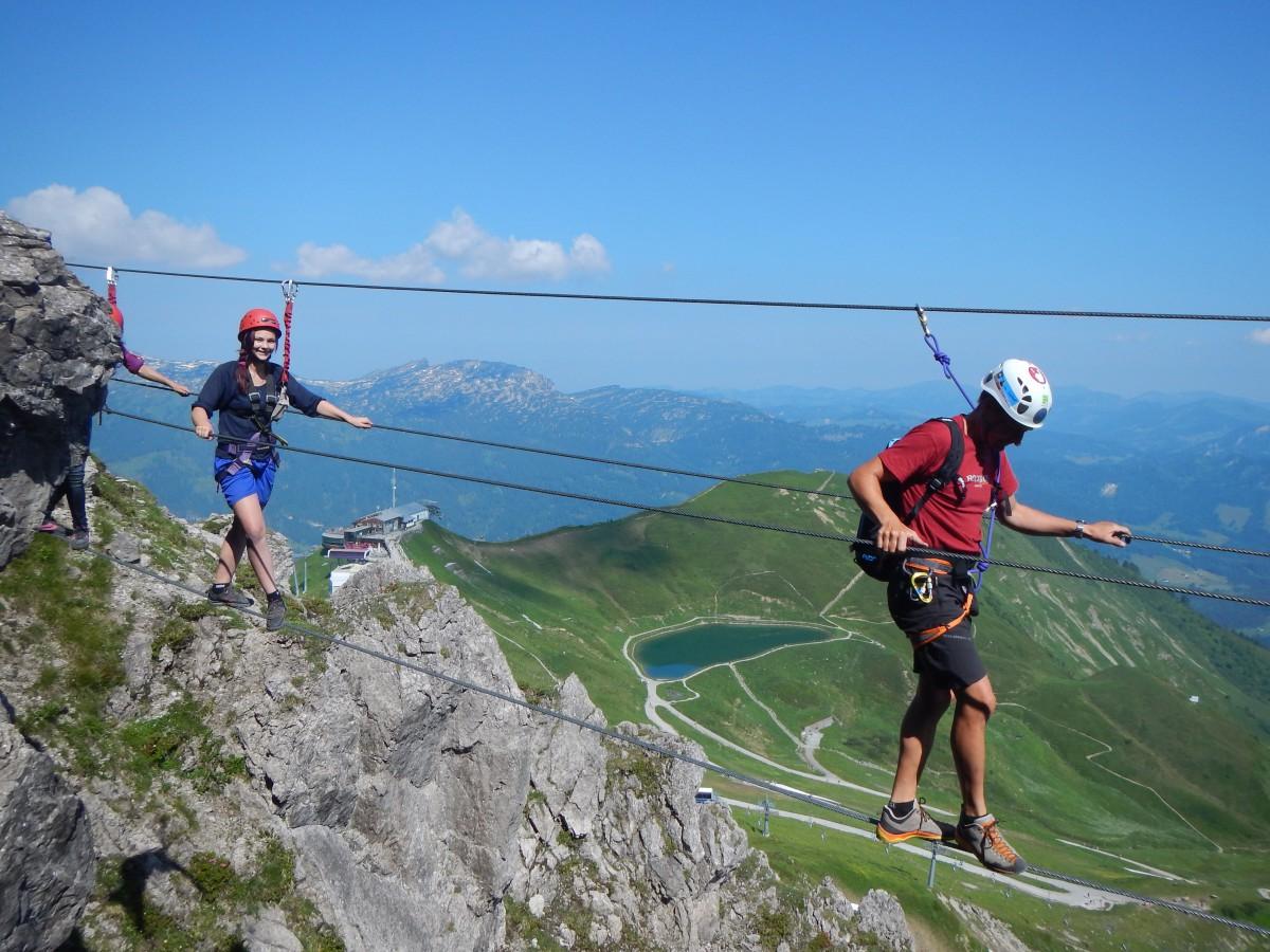 Klettersteigset Alt : Klettersteige kleinwalsertal bergschule