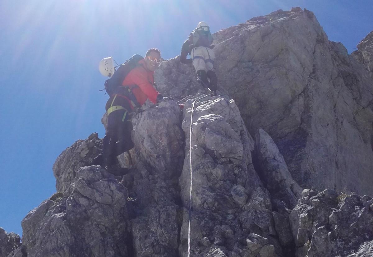 Klettersteig Hindelang : Hindelanger klettersteig bergschule kleinwalsertal