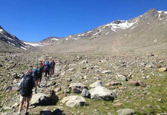 Alpenüberquerung für Frauen & Familien