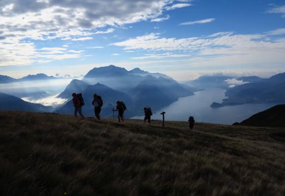 Comer See - Sentiero 4 Valli