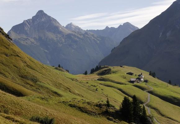 Der Walserweg über die Alpen