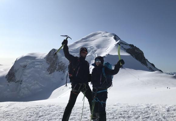 Mont Blanc & Gran Paradiso