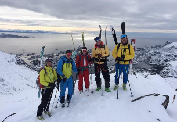 Skitourenreise Lofoten Norwegen