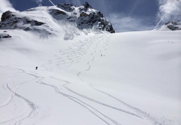 Gran Paradiso Skidurchquerung