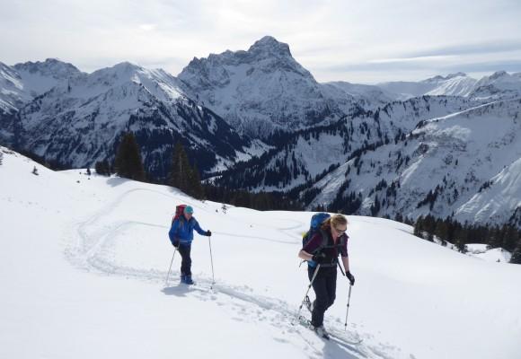 Skitourenkurs Kleinwalsertal Level 3