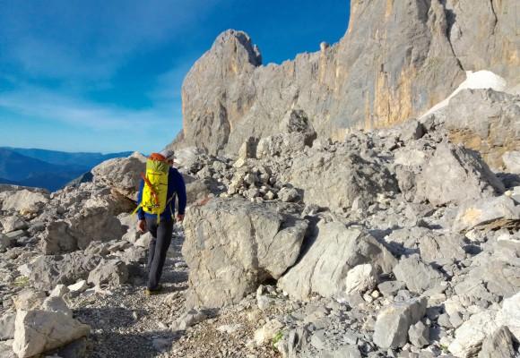E5 Alpenüberquerung 2.Teil von Meran zum Gardasee