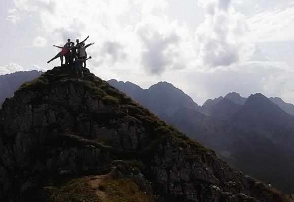Die Zugspitze im Blick!