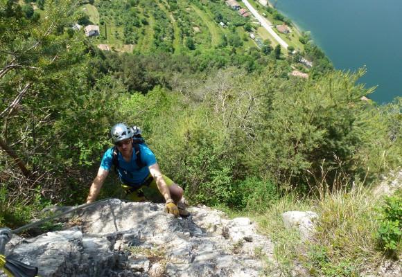 Klettersteige am Lago d´Idro