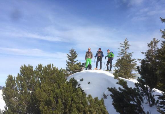 Testtour - Schneeschuhwandern im Tannheimer Tal!