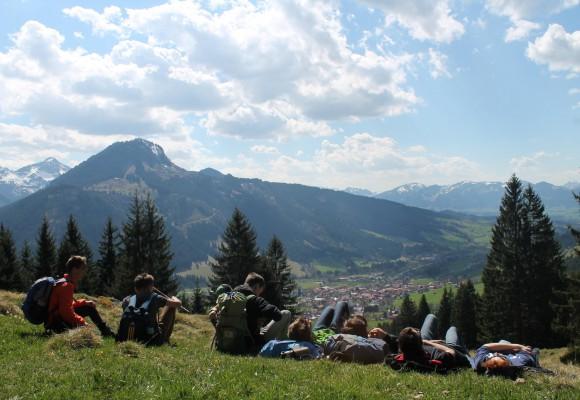 Cooles Englisch-Camp in den Bergen