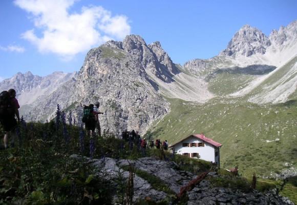 E5 Alpenüberquerung mit Gepäcktransport - Premium