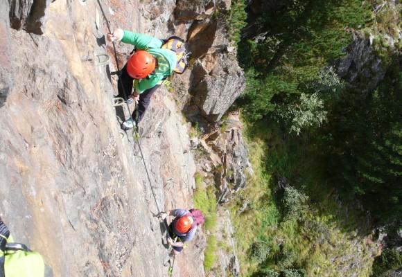 Klettersteige rund um Imst