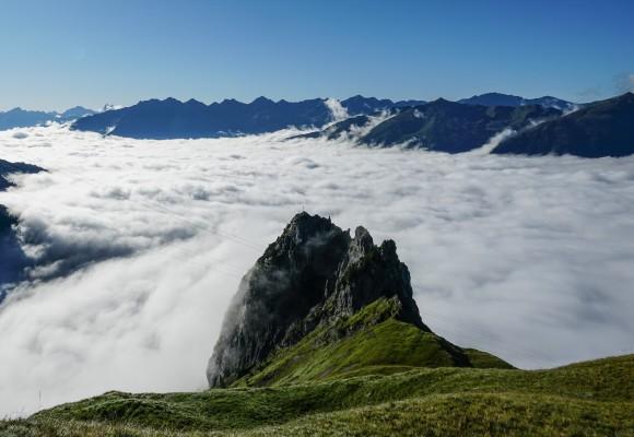 Alpenüberquerung auf Urwegen