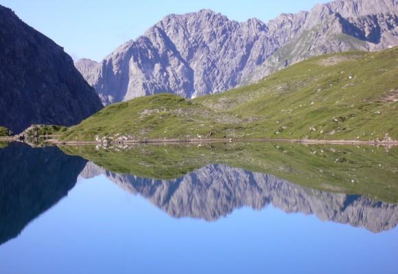 Alpines Klettern an der Steinseehütte