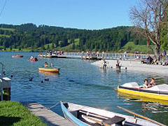 Webcam Strandbad Hauser im Allgäu
