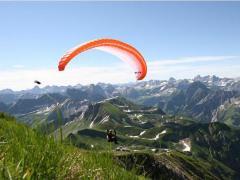 Webcam Tandemfliegen mit vogelfrei im Allgäu