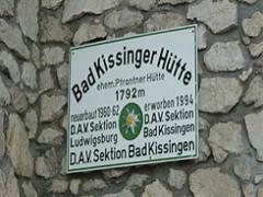 Webcam Bad Kissinger Hütte im Allgäu