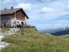 Webcam Fiedererpaßhütte im Allgäu