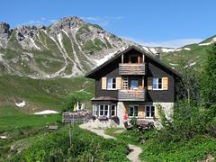 Webcam Landsberger Hütte im Allgäu