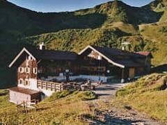 Webcam Schwarzwasserhütte im Allgäu