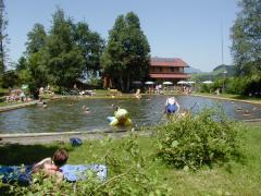 Webcam Moorschwimmbad Reichenbach im Allgäu
