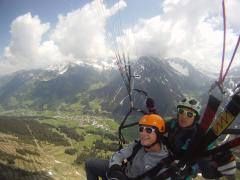 Webcam Tandemfliegen mit Gleitschirm-Taxi im Allgäu