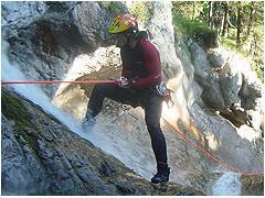 Webcam Canyoning im Kleinwalsertal im Allgäu