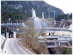 Webcam Erdinger-Arena Oberstdorf im Allgäu