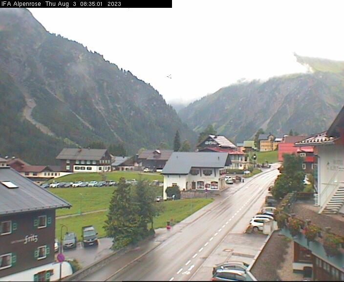 Webcam Hotel Alpenrose im Allgäu