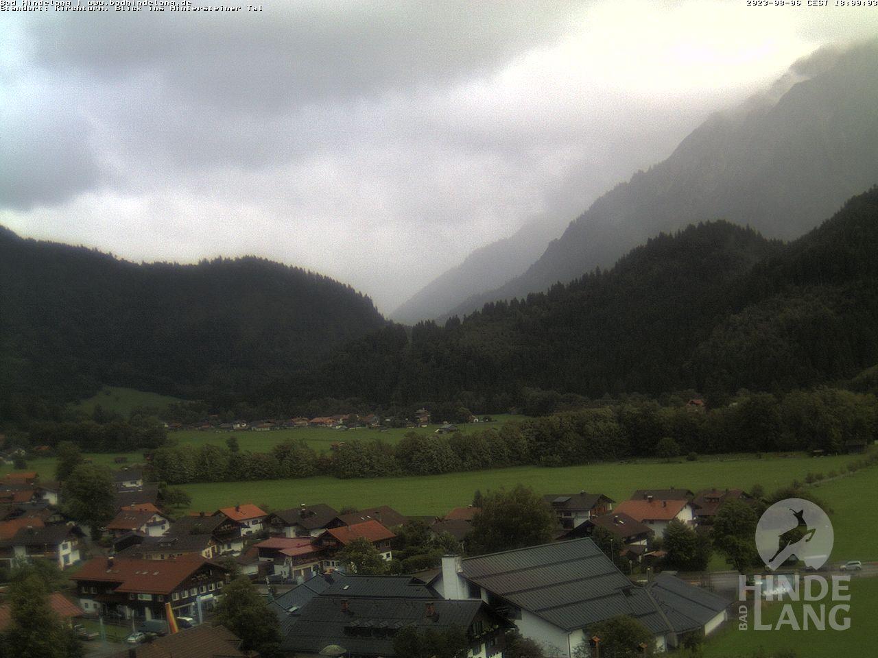 Webcam Bad Hindelang - Blick vom Kirchturm