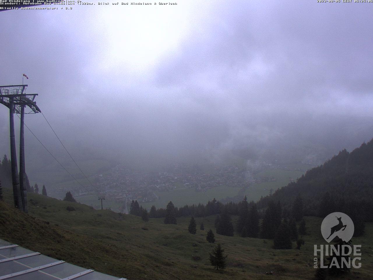 Webcam Hornbahn - Bad Hindelang im Allgäu