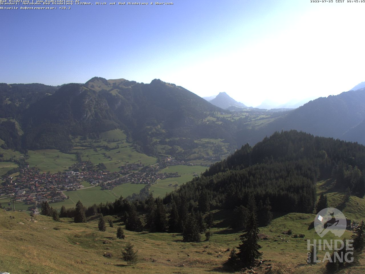 Webcam Hornbahn - Bad Hindelang