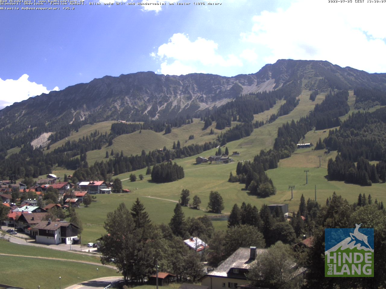 Webcam Bad Hindelang / Oberjoch: Kinderhotel im Allgäu