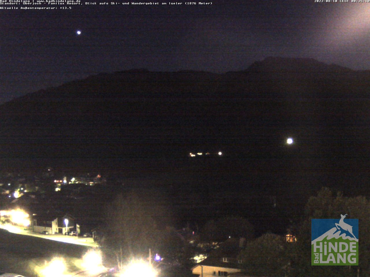 Webcam-Bild: Webcam - Bad Hindelang / Oberjoch: Kinderhotel