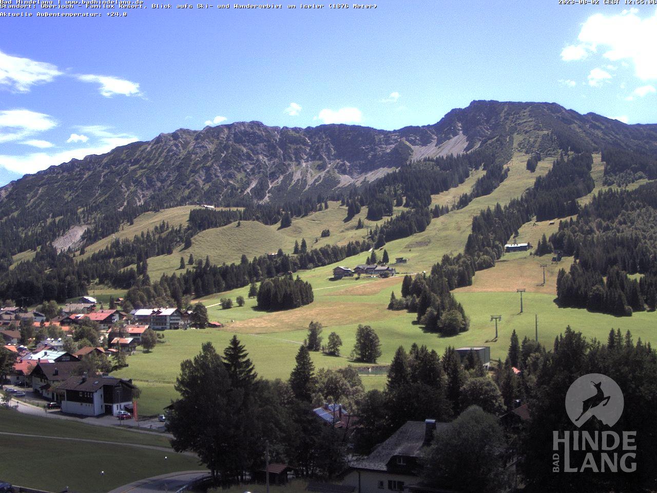 Webcam Bad Hindelang / Oberjoch: Kinderhotel im Allgäu