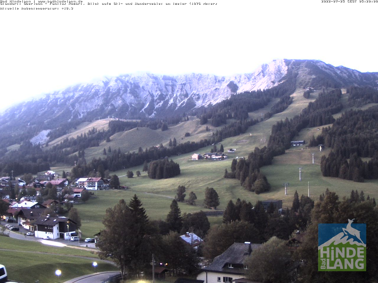 Webcam Bad Hindelang / Oberjoch: Kinderhotel