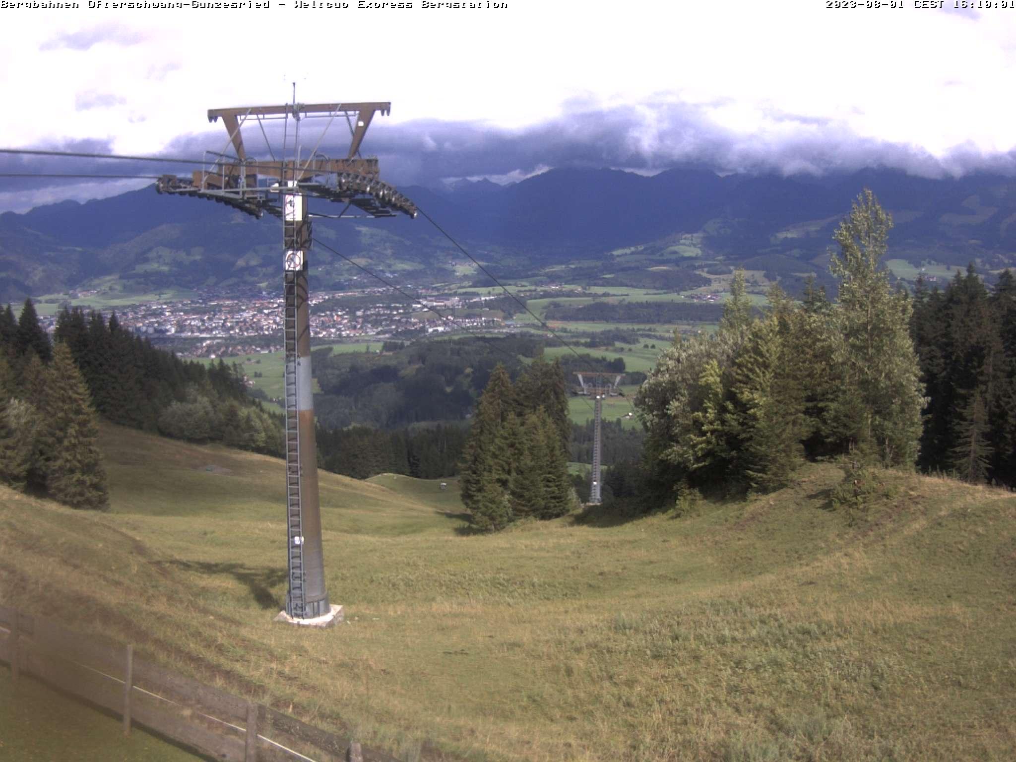 Webcam Bergstation Weltcup-Express im Allgäu