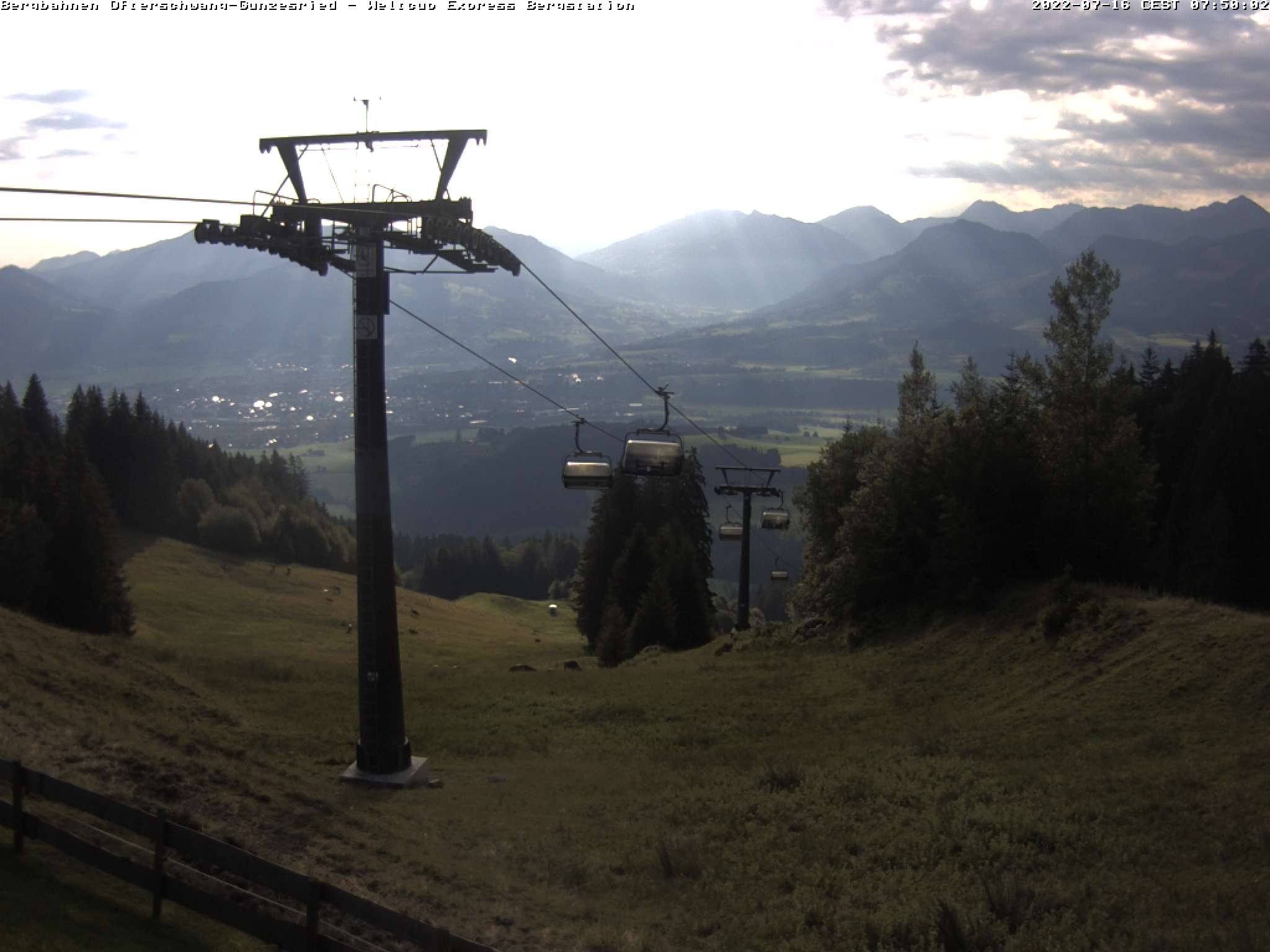 Webcam-Bild: Webcam - Bergstation Weltcup-Express