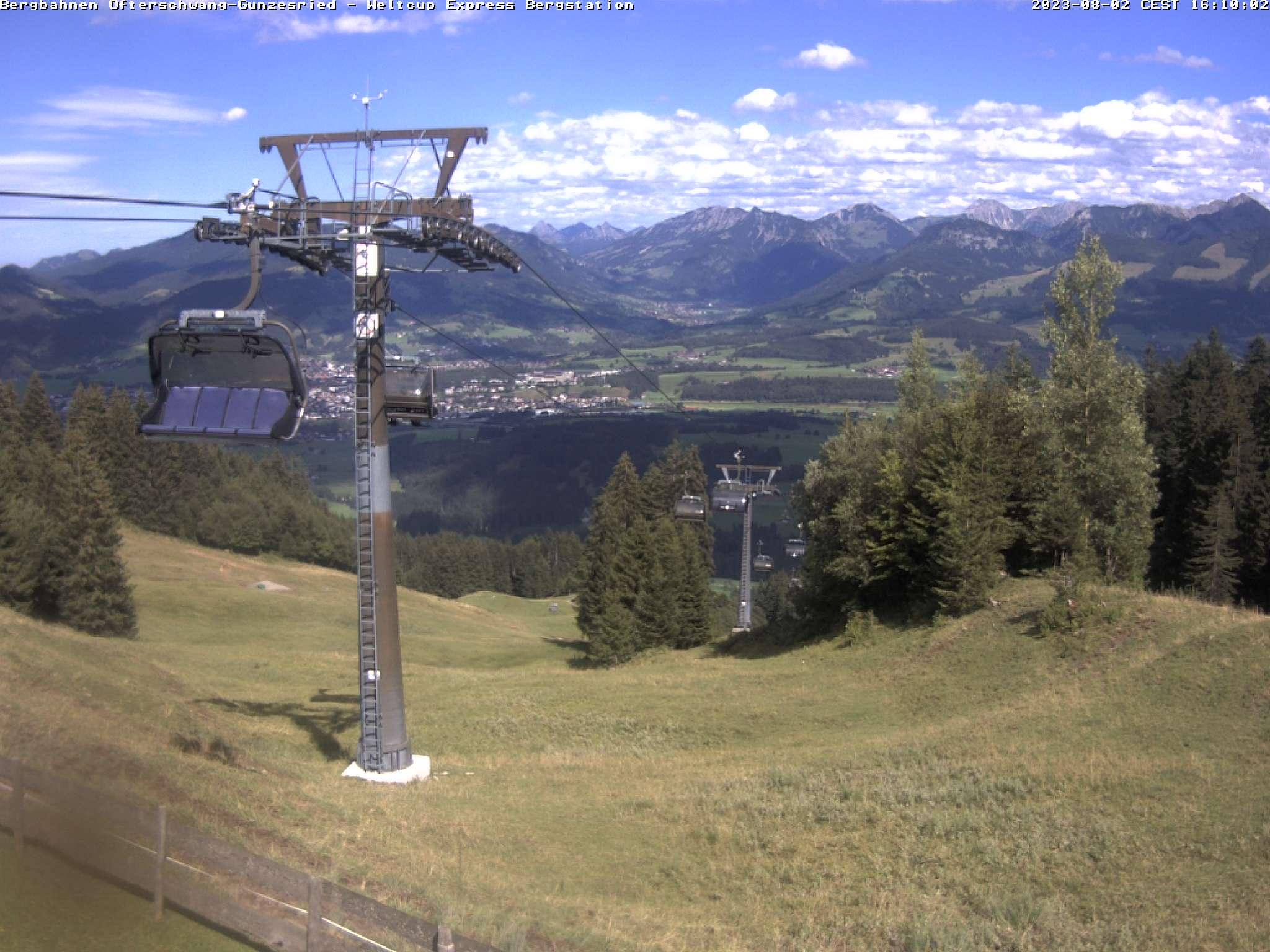 Webcam Bergstation Weltcup-Express