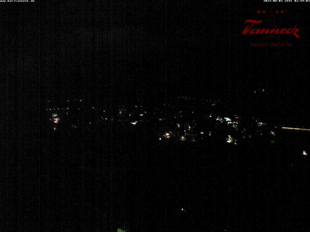 Webcam Tanneck - träumen über'm Tal im Allgäu