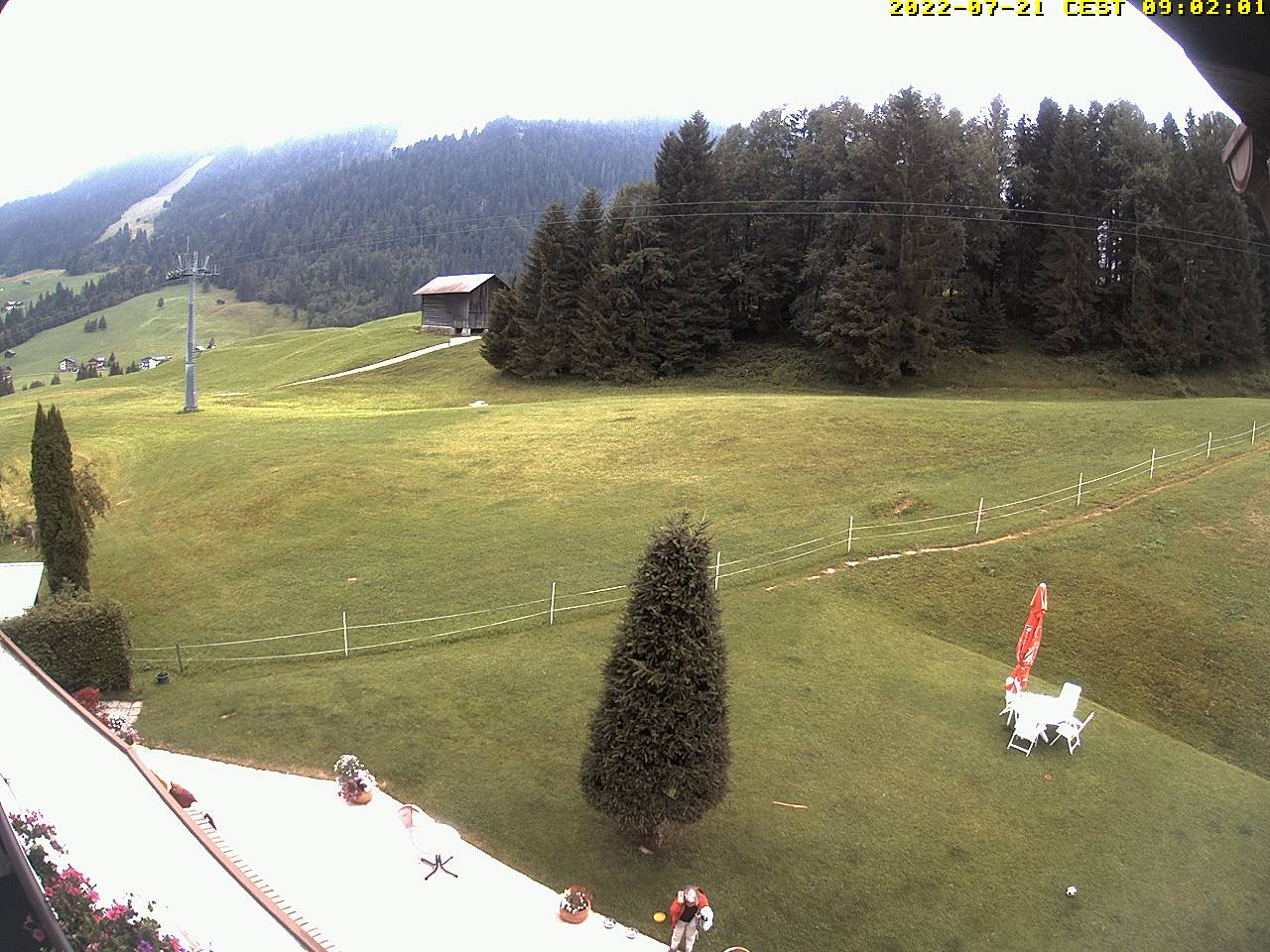 Webcam Hotel Montana im Allgäu