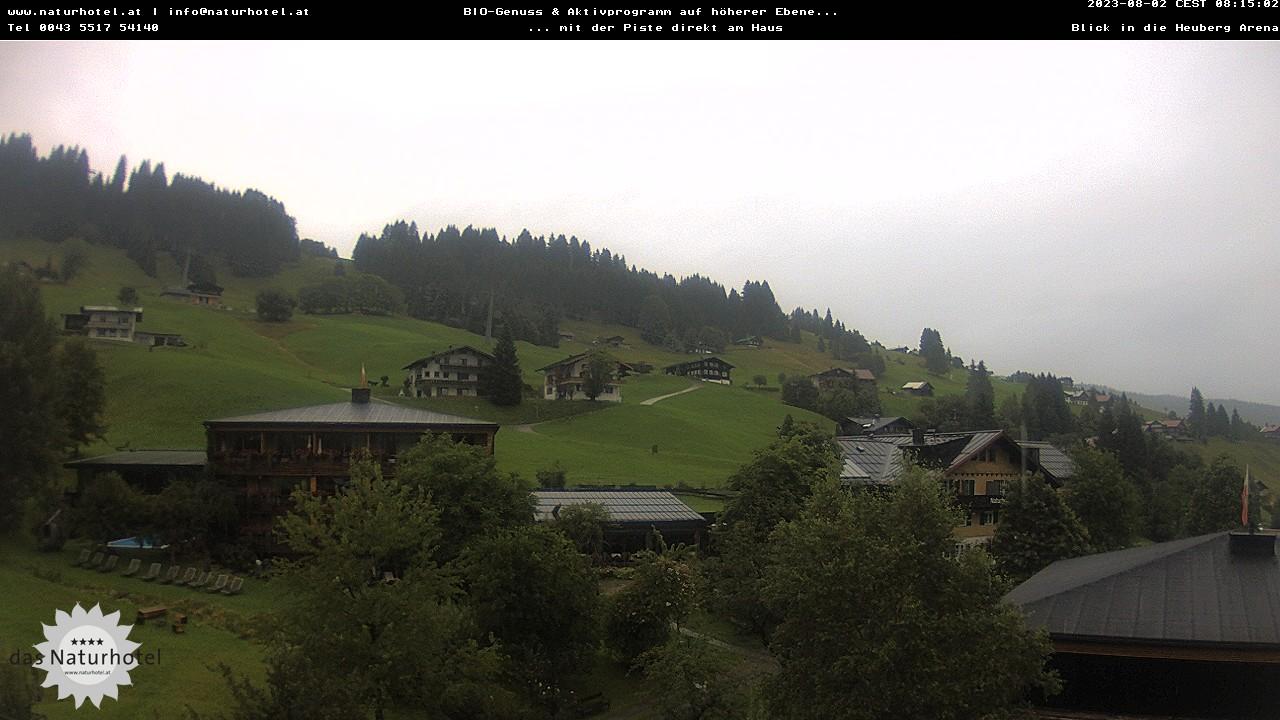 Live Webcam des Naturhotel Chesa Valisa
