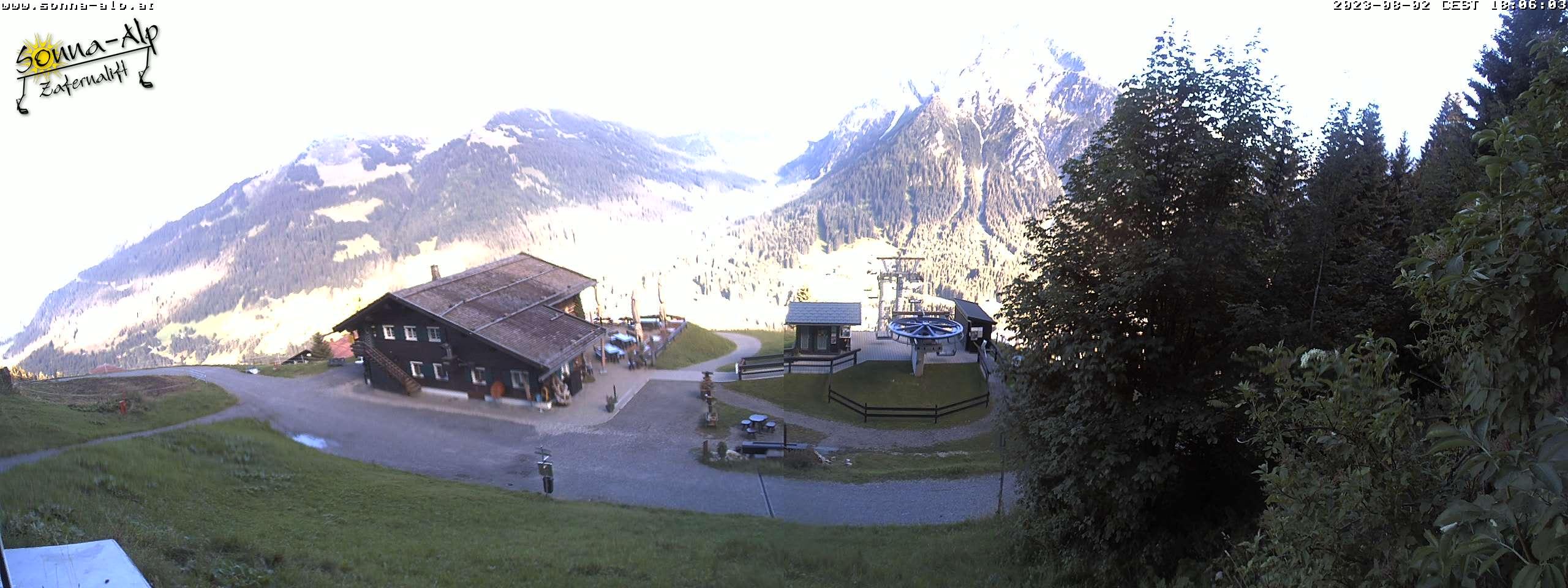 Zafernalift Bergstation